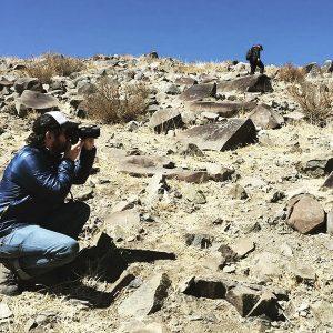 imagen de Enrique Ramirez en el desierto de Atacama